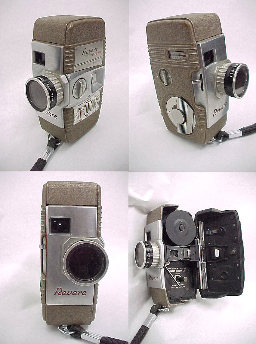 revere movie camera  eBay