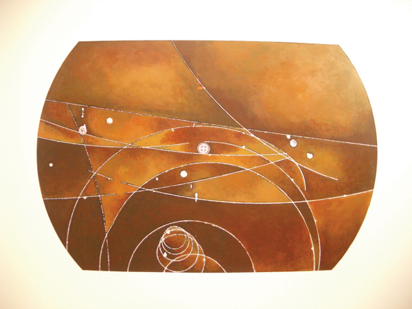 bubble chamber painting