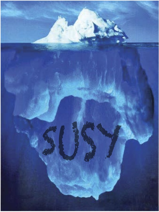 susy hidden under the iceberg